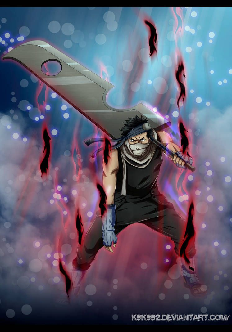 Zabuza Momochi By K9k992 Naruto Pictures Wallpaper Naruto Shippuden Anime Canvas