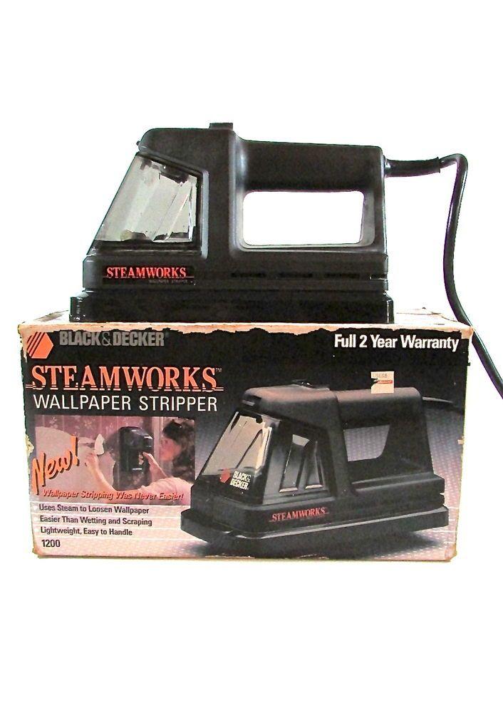 black and decker wallpaper stripper
