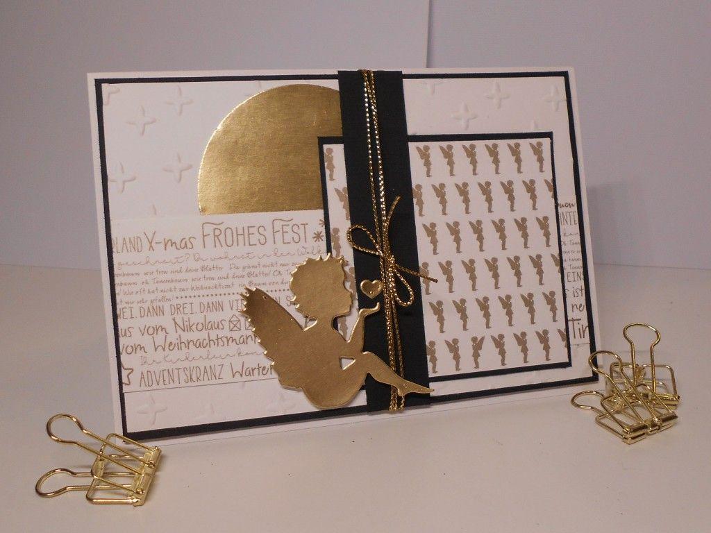 Edle Weihnachtskarten Basteln.Edle Weihnachtskarte Aus Der Renke Kreativbox Mts 148 Kleine
