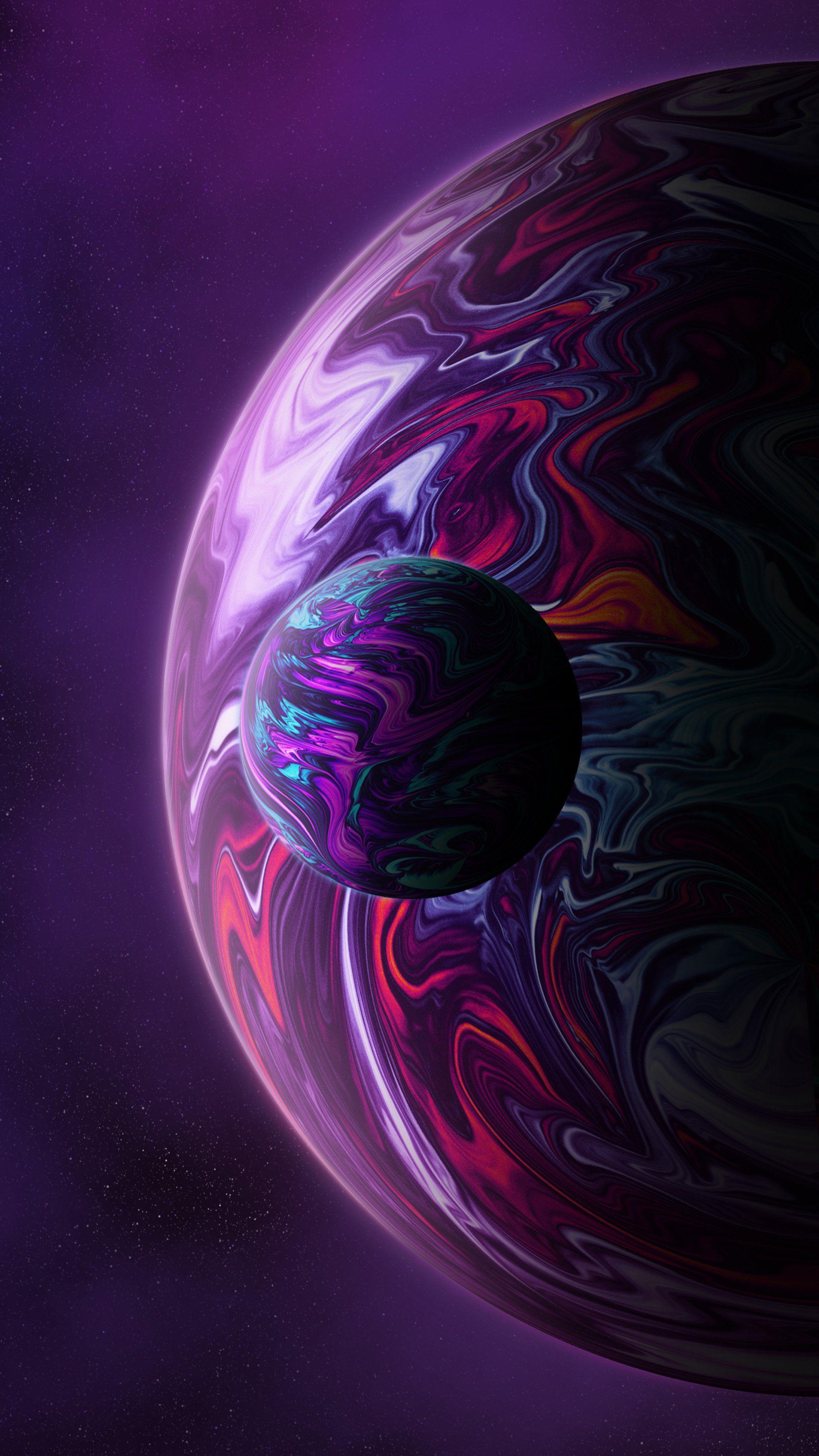 Планеты em 2020 Imagem de fundo para iphone, Papel de