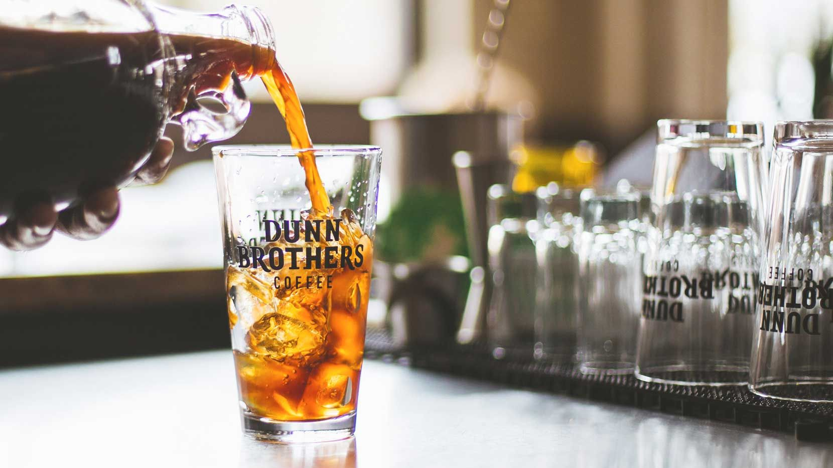 Dunn Brothers Coffee is a specialty coffee shop franchise