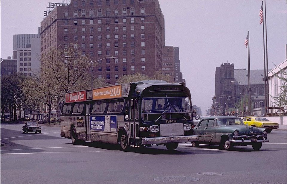 Broadway And 65th Street Columbus Avenue May 7th 1972 Joe Testagrose Collection