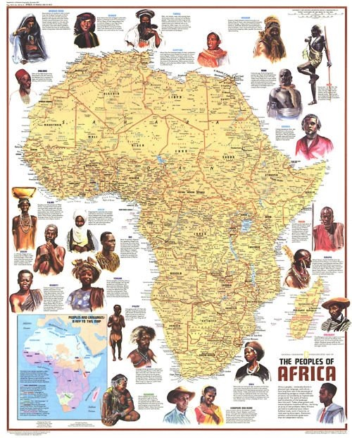 Map Of Africa Old Maps Pinterest Africa Africa Map And History - Us wildlife map of the 1400s