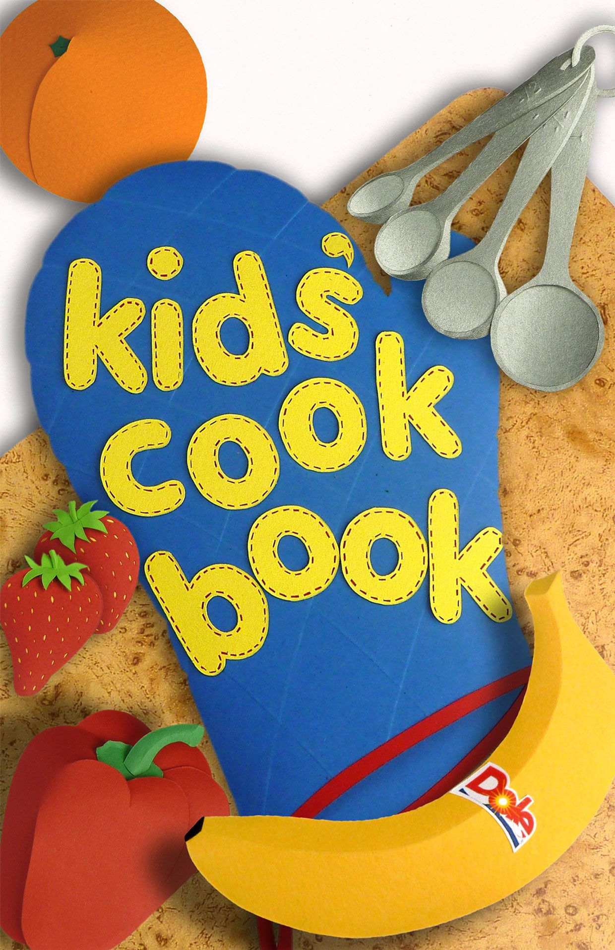 Kid's recipe book for Dole on Behance Cooking with kids