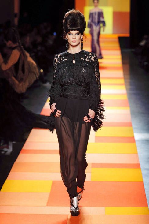Jean Paul Gaultier Spring 2013 Couture Runway - Jean Paul Gaultier Haute Couture Collection - ELLE