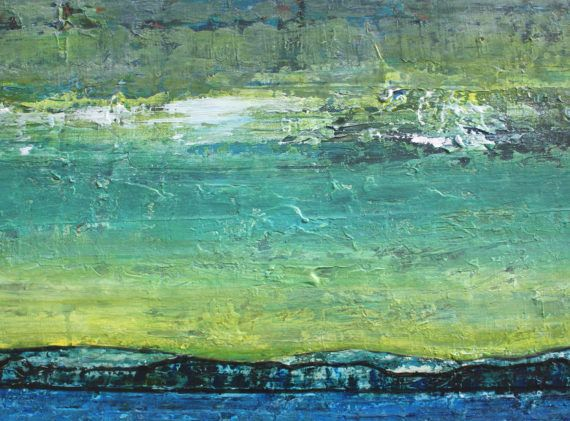 abstract painting abstract ocean painting texture blue