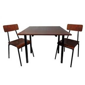 3 Piece Dining Table Set  Chestnut  Threshold™ Prepossessing Three Piece Dining Room Set Decorating Design