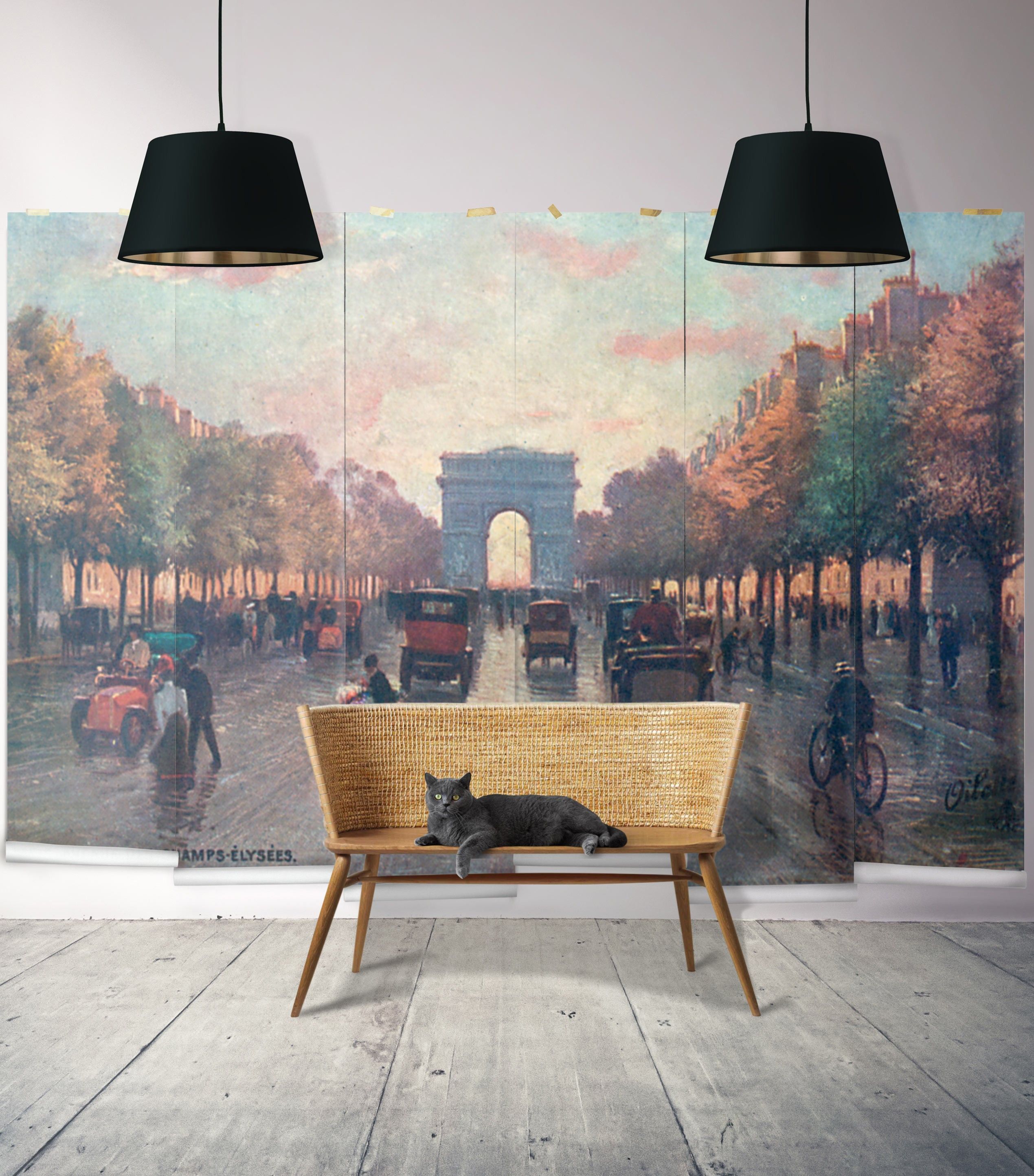 Champs Lys Es Wall Mural From The Erstwhile Collection