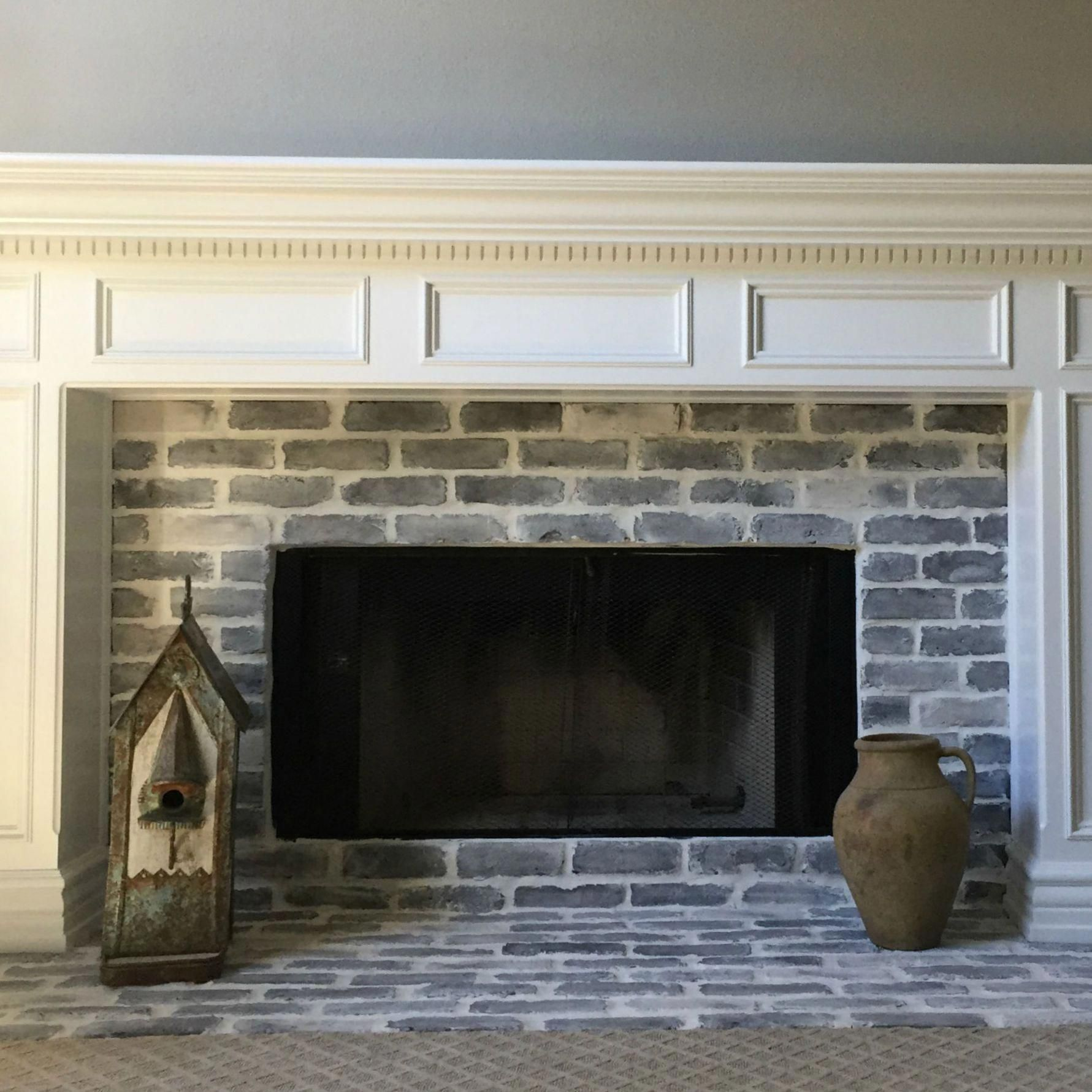 chimneydecorlivingroom in 2020 Farmhouse fireplace