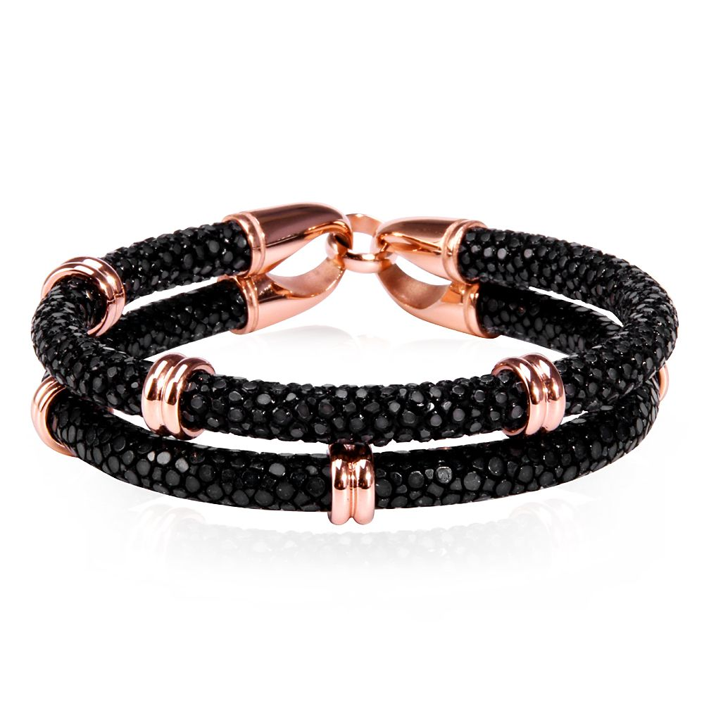 Leather Bracelet Quality Fashion Directly From China Suppliers Trendy Rope Chain With Stainless Steel Clasp