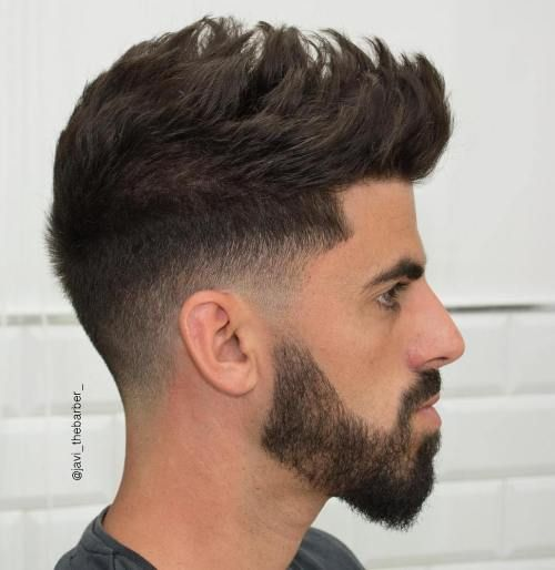 Awesome 8 Spiky Taper Fade