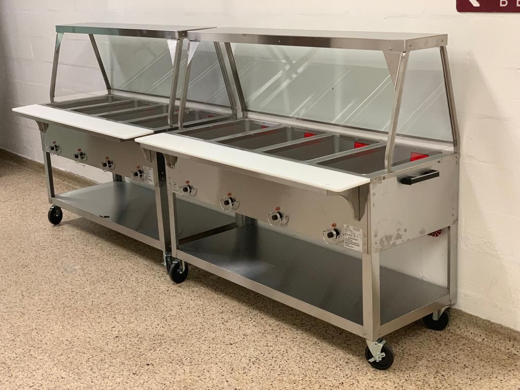 Want to make serving hot food easy? Try a commercial steam