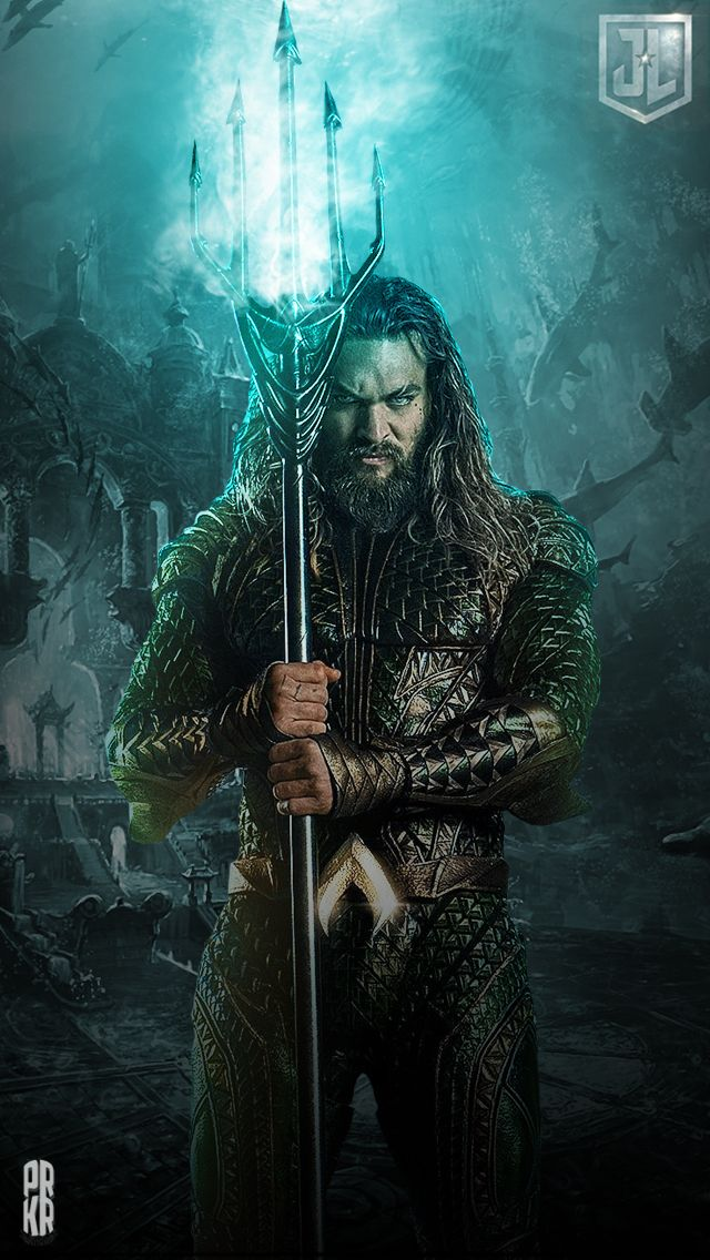 Aquaman Justice League Iphone Hd Wallpaper By Prkrdesigns Dc