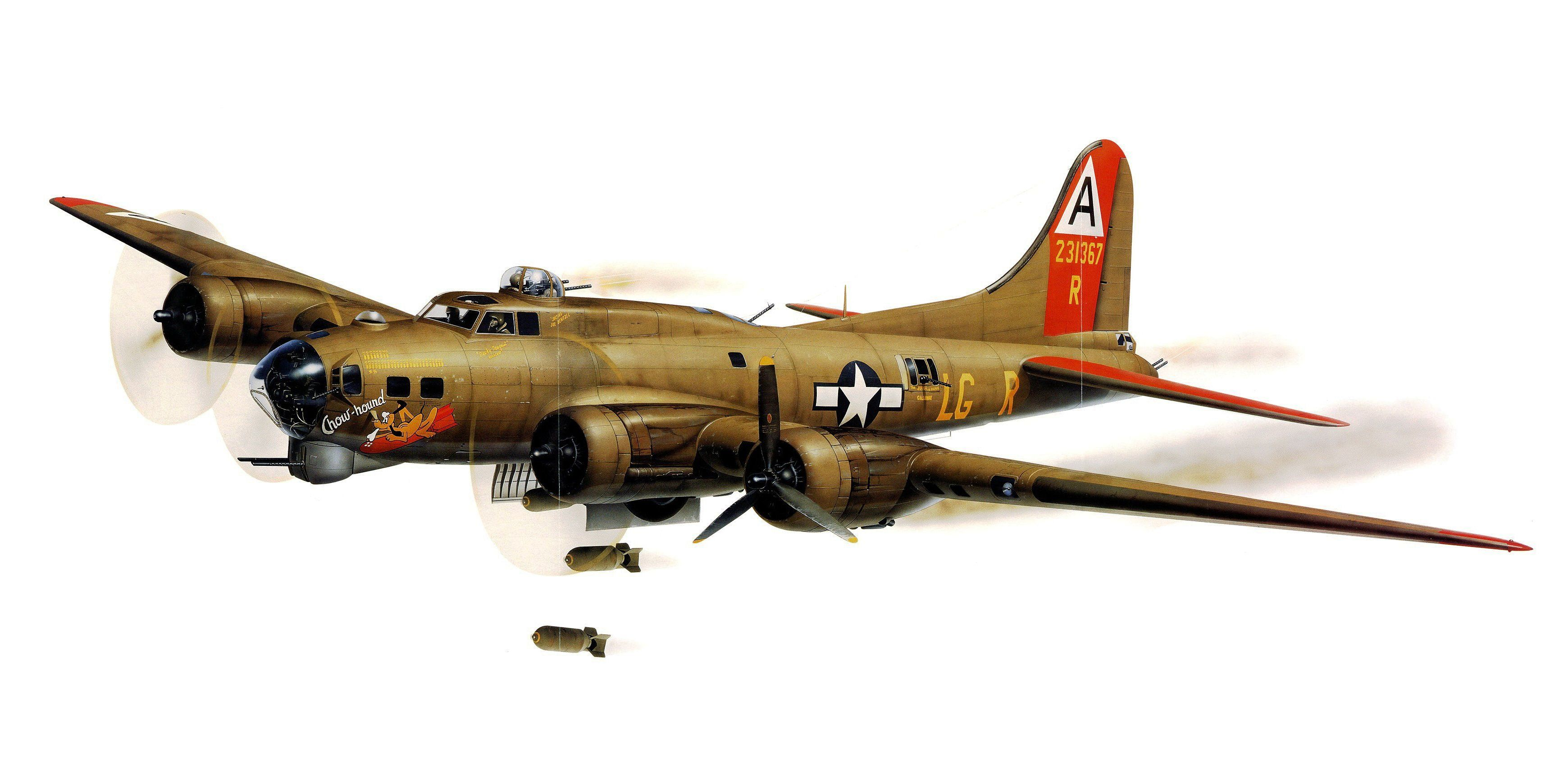 Boeing B-17G Flying Fortress 8th Air Force Aircraft Painting Aviation Art Print