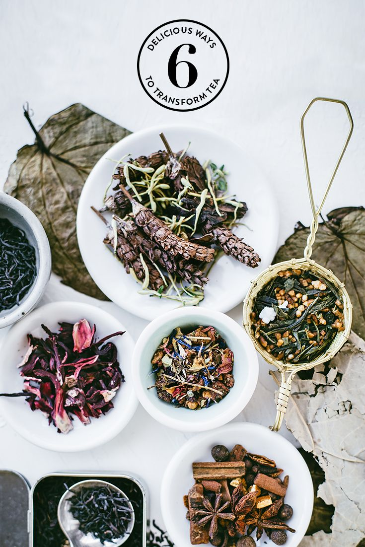 Did you know that #tea can be used to flavor a variety of #recipes both #savory and sweet? Try these 6 easy and delicious #recipes