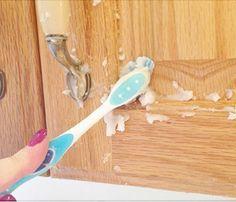 Putztipp #003: Holztüren wieder zum Glänzen bringen