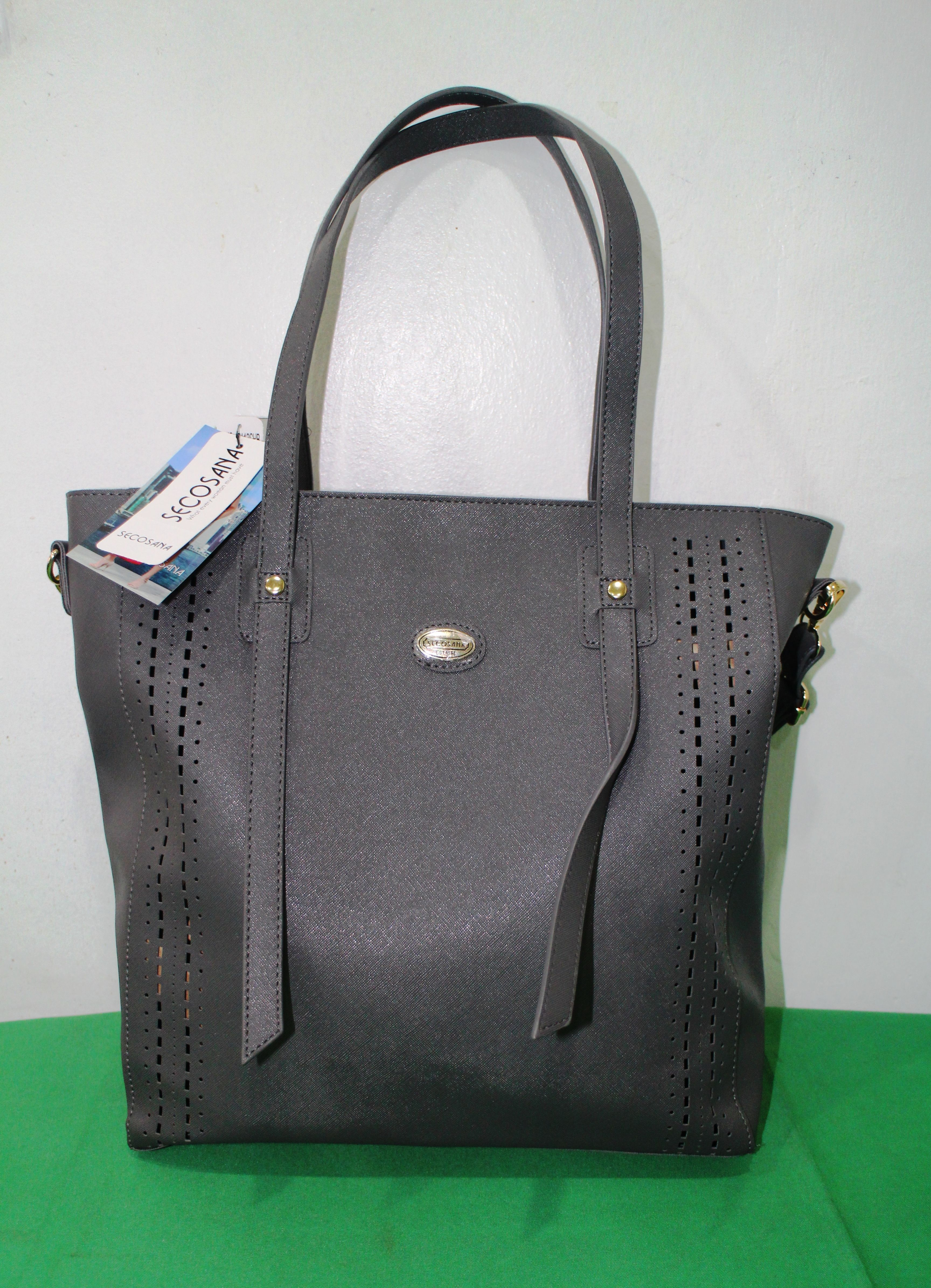 Secosana Grey Bag Price  from ₱999 to ₱750 Limited Stock Only ... b0fb9c979e167