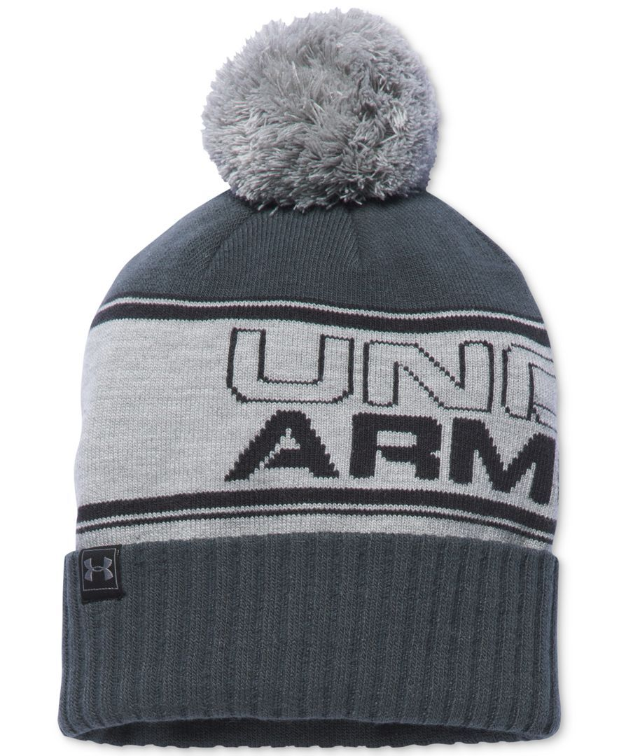 70ca2a2dfe0 Under Armour Men s Pom-Pom Beanie