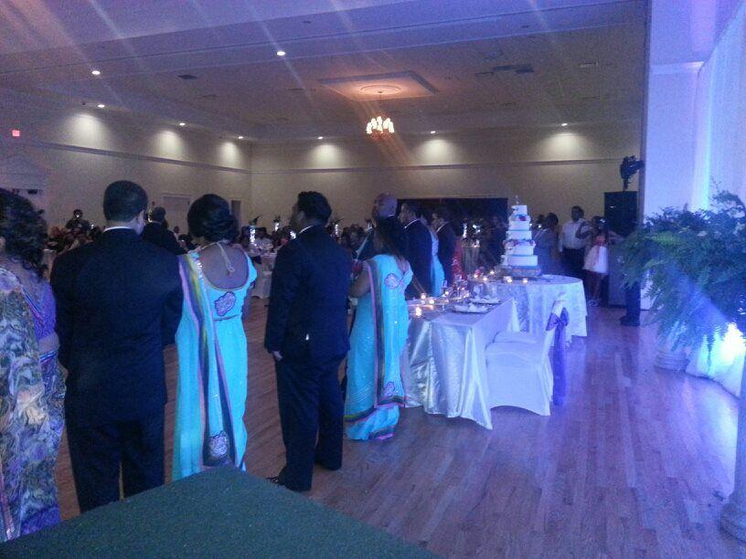400+ guest wedding reception | Wedding reception, Event ...