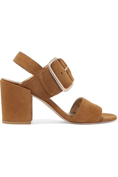 STUART WEITZMAN City suede sandals. #stuartweitzman #shoes ...
