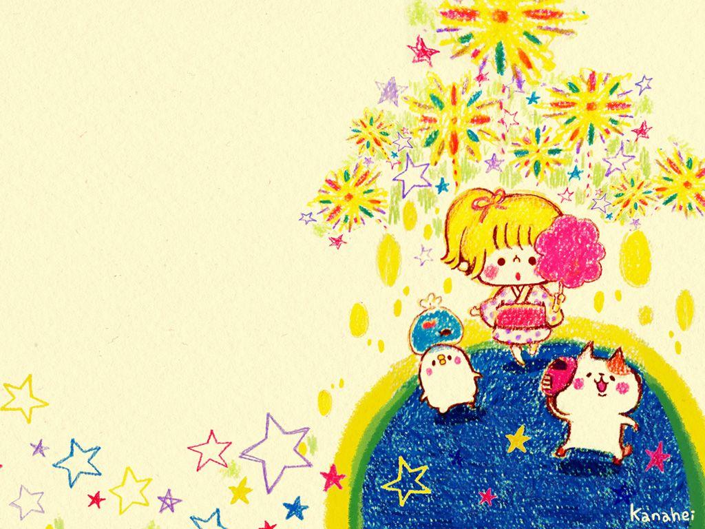 夏絵日記 カナヘイの家 Kanahei Kawaii カナヘイ イラスト