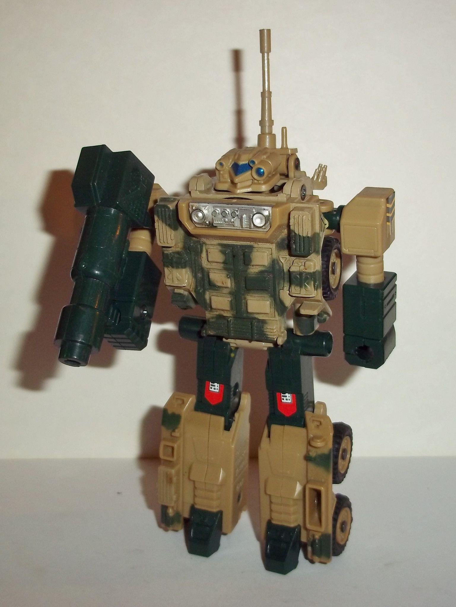 gobots DEFENDOR vintage COMPLETE tonka super gobots