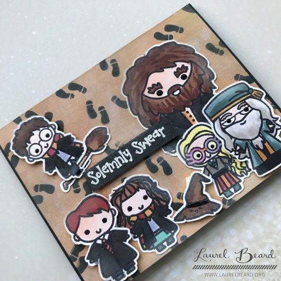 Harry Potter Card Blog Hop Plus Giveaway