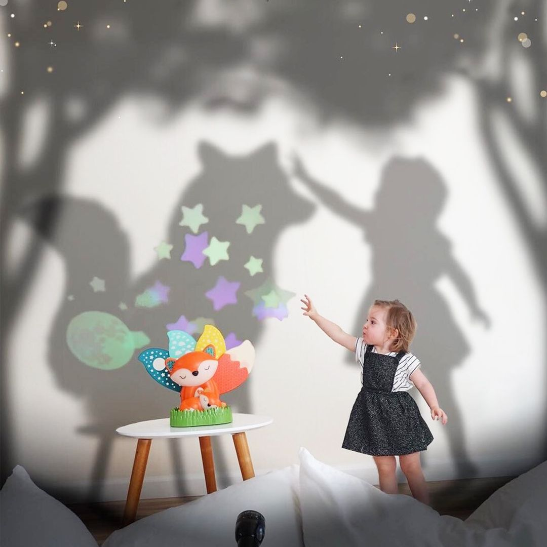 Musical Soother Night Light Projector Baby Night Light