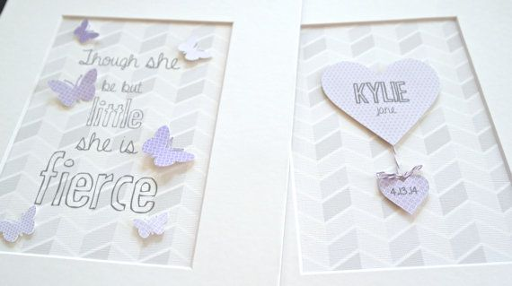 Purple Baby Girl Nursery, Purple Little Girl Room Art, Butterfly Nursery Art, Butterfly Nursery Decor, Purple Nursery Art, Purple Girls Room