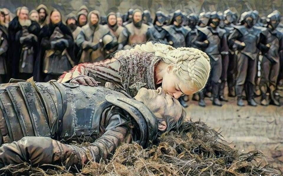 Daenerys And Jorah Mormont Ridders