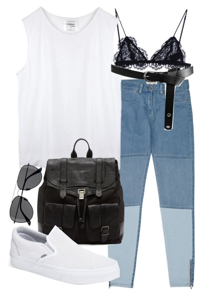 """""""Untitled #17799"""" by florencia95 ❤ liked on Polyvore featuring Reiss, Isabel Marant, ASOS, Proenza Schouler, Vans and H&M"""