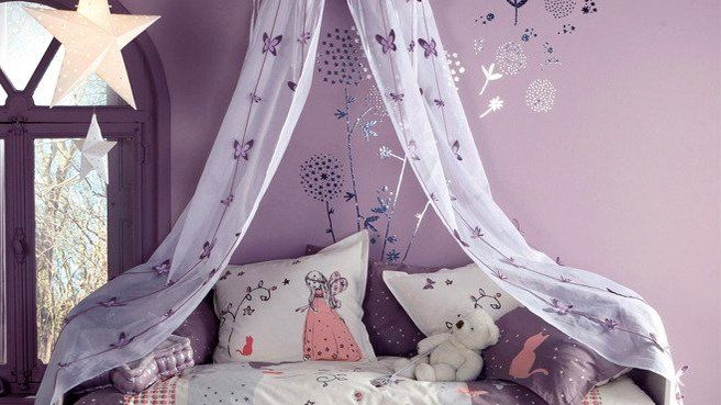 1000 images about chambre enfant nursery on pinterest retro design kids workspace and heroes - Chambre Rose Et Violet