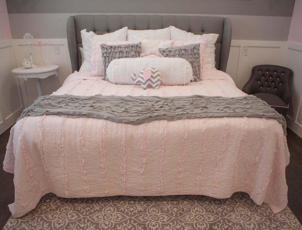 Pinterest Grey And Blush Pink Bedroom Decoomo