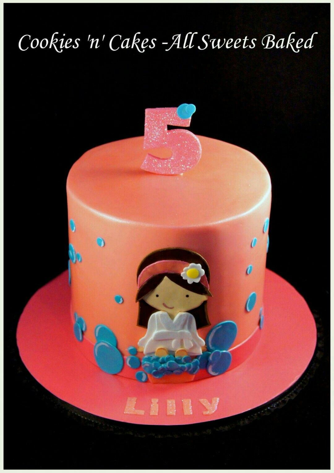 5th Birthday, little girls, pamper party, spa party. www.facebook ...