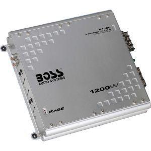 Boss Audio R1200 Car 1200 Watts 2 / 3 / 4 Channel Class D