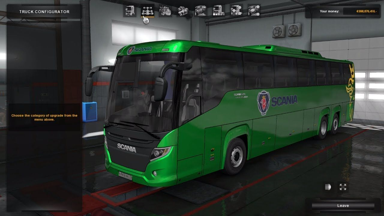 💋 Euro truck simulator 2 scania bus mod download | Scania Touring