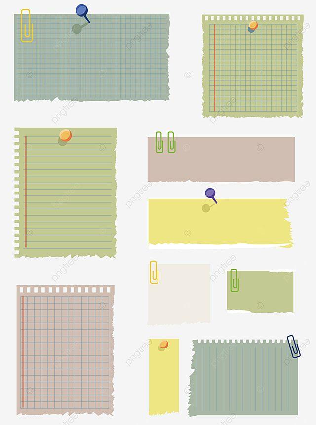 Papel De Mensaje De Nota Adhesiva De Vector Clipart De Papel Vector Nota Papel Shabby Material Descarga Gratuita Papel Png Y Vector Para Descargar Gratis P Sticky Notes Note Paper