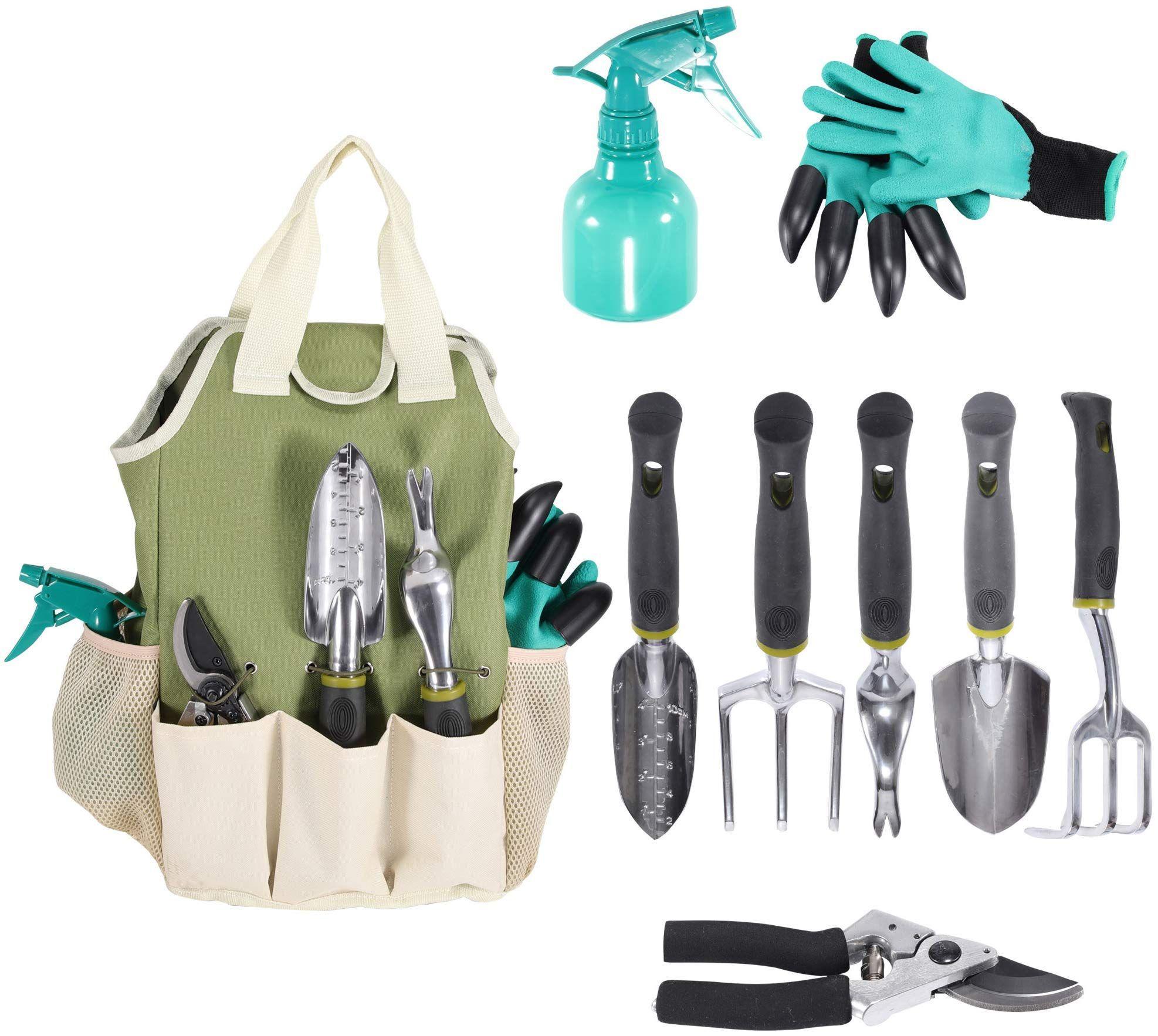 Garden Tool Set Garden Tools Organizer Tote Gardening Gloves