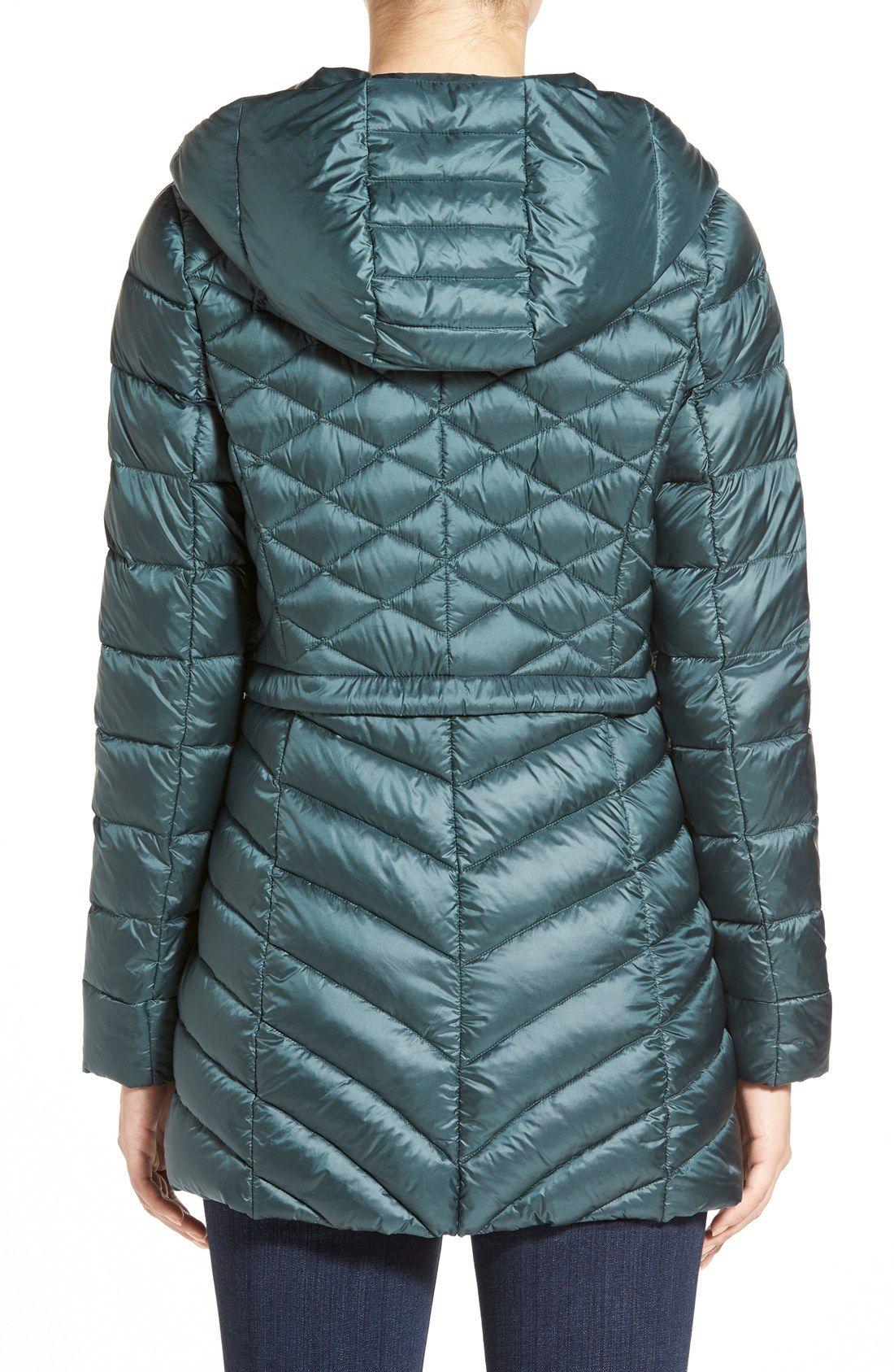 3e9a24e5b Halogen® Hooded Down Jacket - Nordstrom | fashion love | Jackets ...
