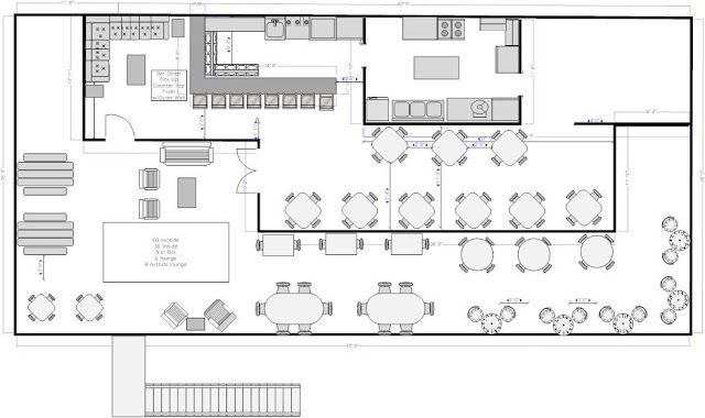 How To Create An Awesome Coffee Shop Floor Plan Any Size Or Dimension Cafe Floor Plan Restaurant Flooring Floor Plan Design
