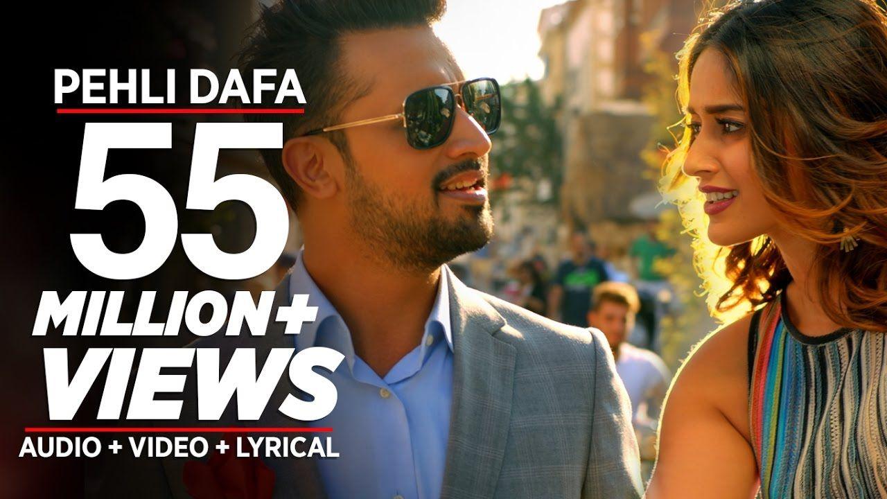 Atif Aslam Pehli Dafa Song Video Ileana D Cruz Latest Hindi Song Songs Atif Aslam Song Hindi