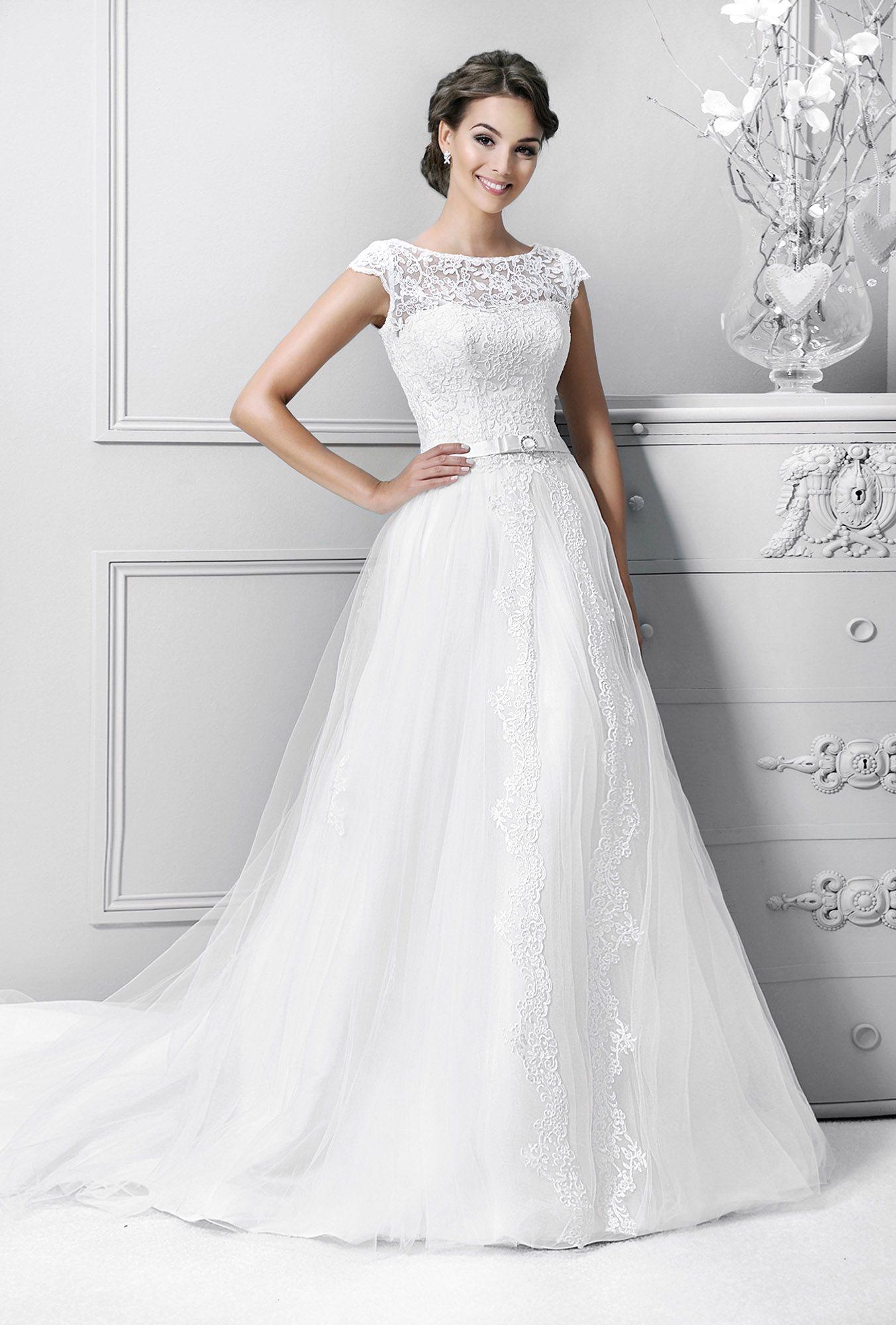 Crystal Collection Agnes Koronkowe Suknie ślubne Suknie ślubne