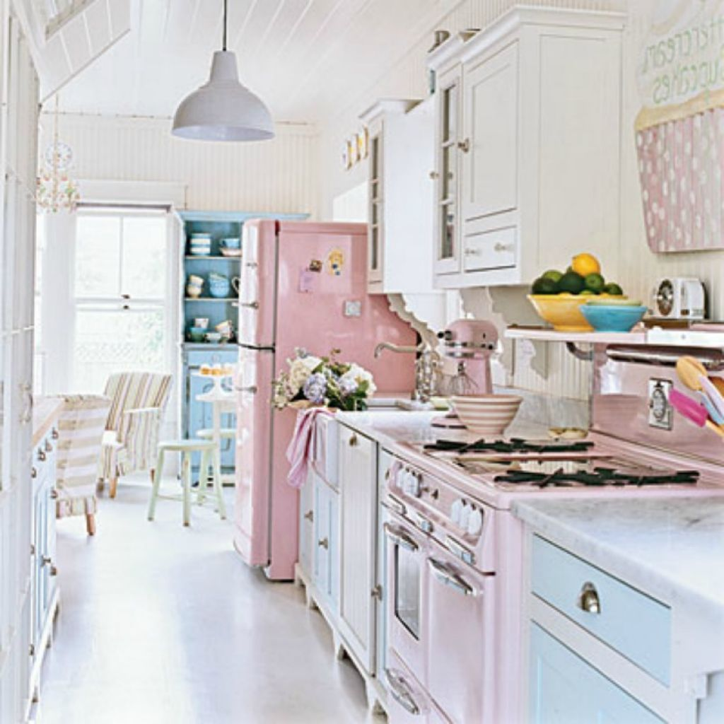 Shabby chic wall paint colors - Kitchen Shabby Chic Kitchen Ideas Giving You Warm And Friendly Cooking Space Shabby Chic