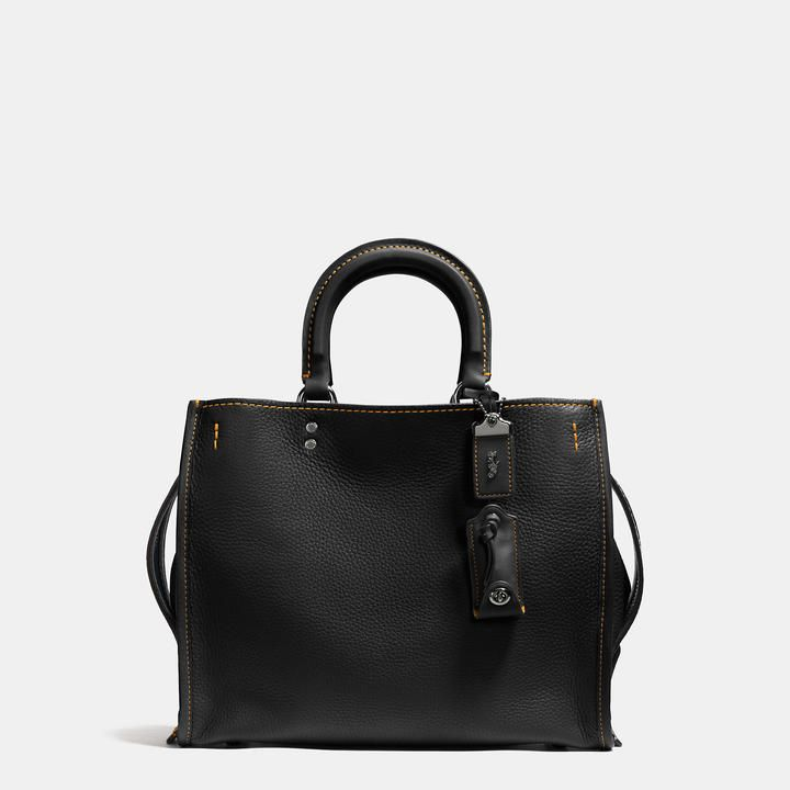 COACH COACH 1941 ROGUE IN GLOVETANNED PEBBLE LEATHER