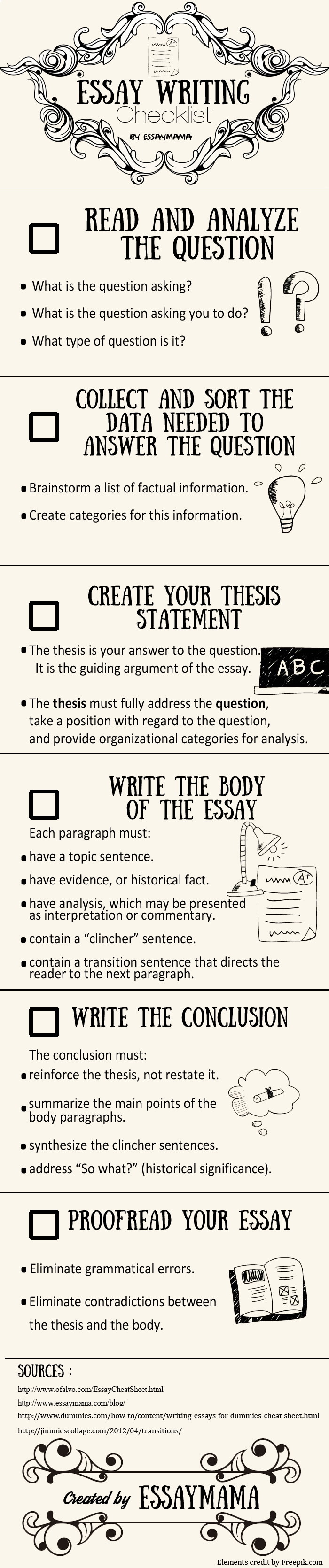 essay writing checklist for brainy students by the one of them essay writing checklist for brainy students by the one of them check your essay