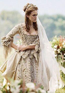 Elizabeth Swann S Wedding Dress Movie Wedding Dresses Wedding