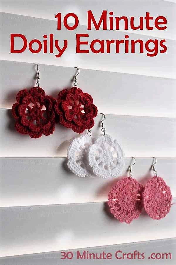 10+ Cute And Easy 10 Minute Crochet Projects [Free Patterns ...