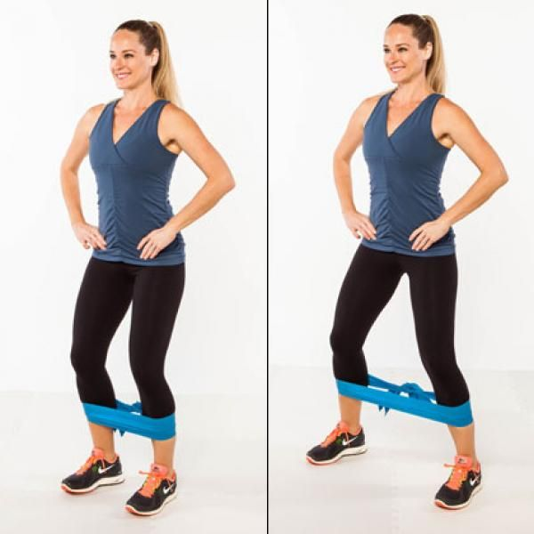 10 Knee-Friendly Toning Moves