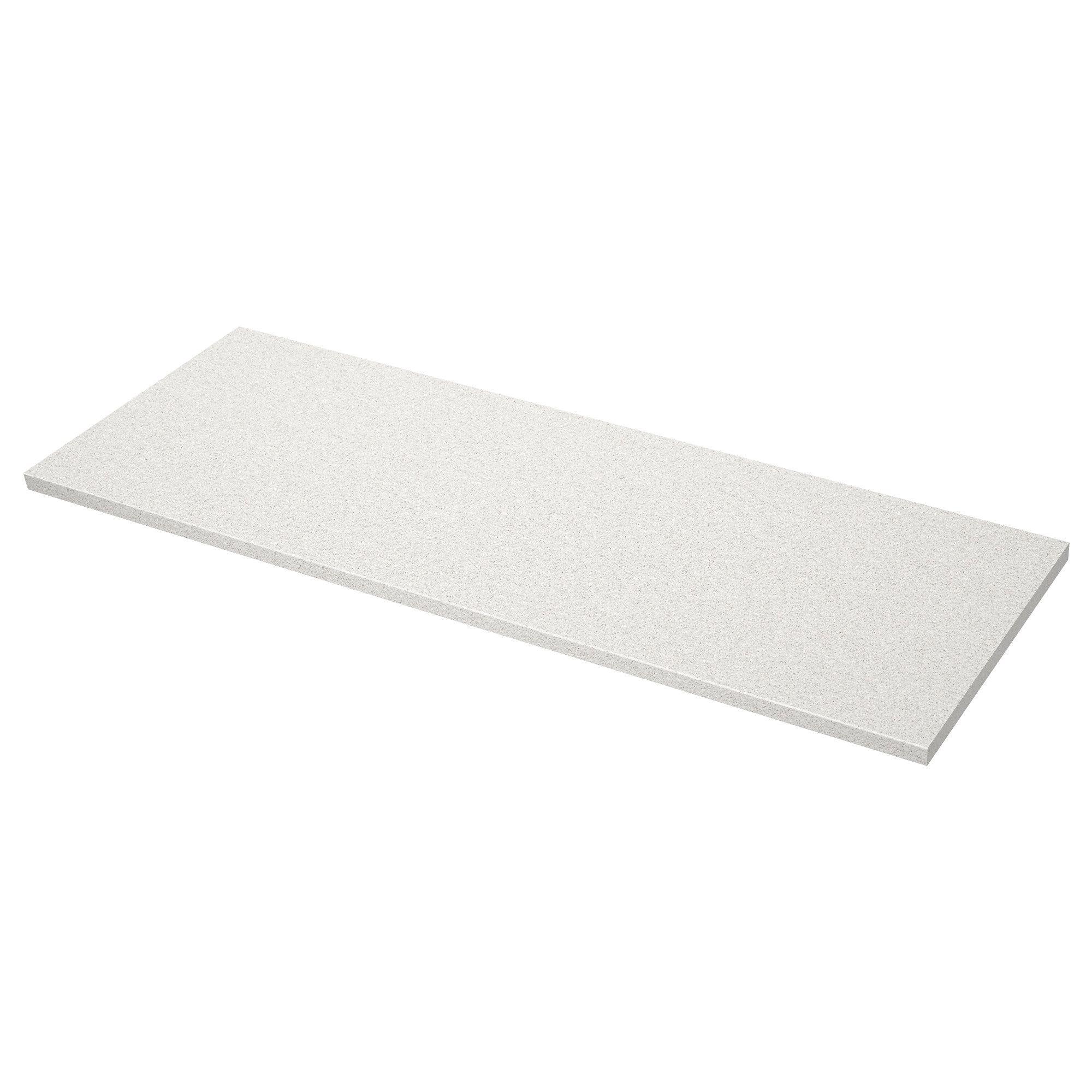 Saljan Countertop White Stone Effect Laminate 74x1 1 2 Countertops Laminate Countertops Kitchen Countertops