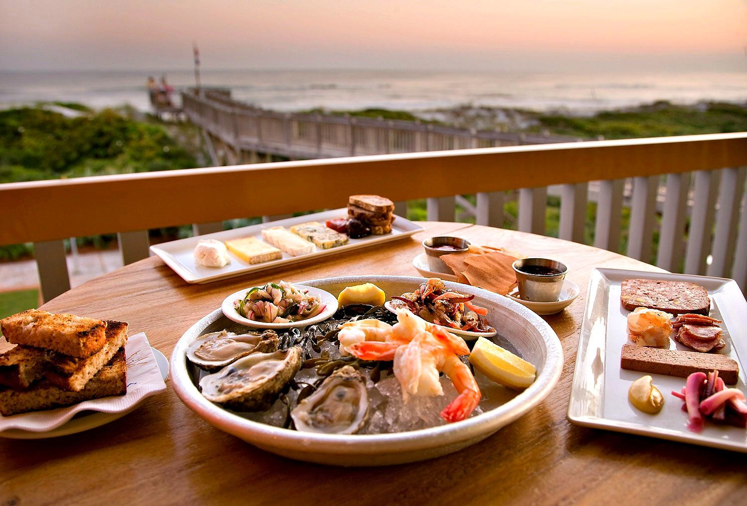Fresh Oysters And More From Fish Out Of Water Restaurant At
